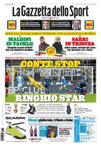 La Gazzetta dello Sport Roma – 13 febbraio 2020