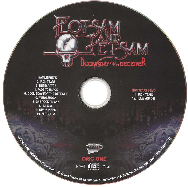 Flotsam and Jetsam - Doomsday For The Deceiver (1986) [2006, 20th Anniversary Edition]