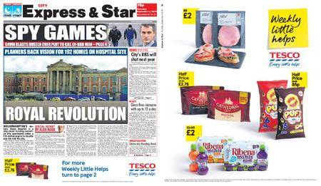 Express and Star City Edition – September 06, 2018