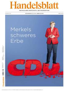 Handelsblatt - 14-16 Februar 2020