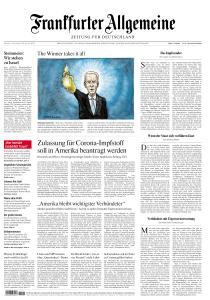 Frankfurter Allgemeine Zeitung - 10 November 2020