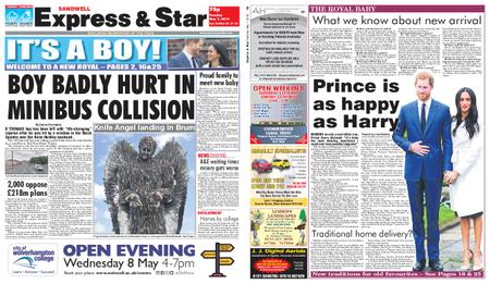 Express and Star Sandwell Edition – May 07, 2019
