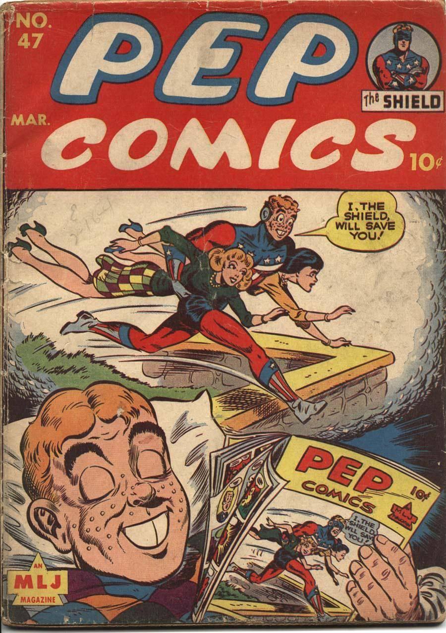 Some 40s  50s Archie  Friends -Pep Comics 47 1944