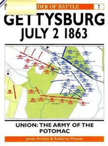 Gettysburg July 2 1863. Union: The Army of the Potomac (Osprey Order of Battle 7) (repost)