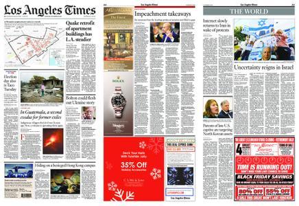 Los Angeles Times – November 23, 2019