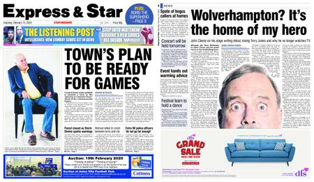 Express and Star Staffordshire Edition – February 15, 2020