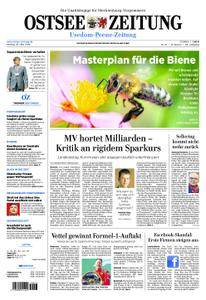 Ostsee Zeitung Wolgast - 26. März 2018