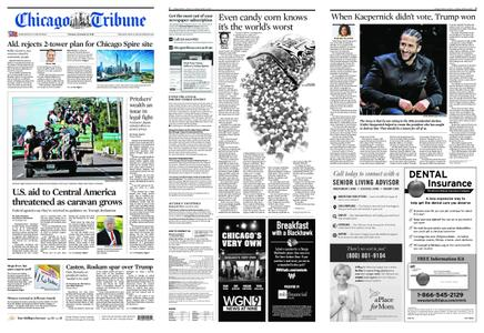 Chicago Tribune – October 23, 2018