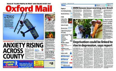 Oxford Mail – June 25, 2018