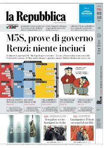 la Repubblica - 6 Marzo 2018