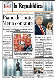 la Repubblica - 25 Settembre 2019