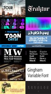 Best 11 Fonts Collection