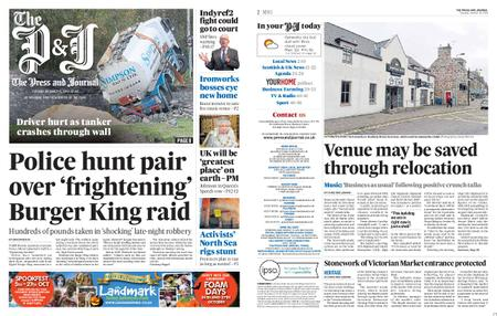 The Press and Journal Moray – October 15, 2019