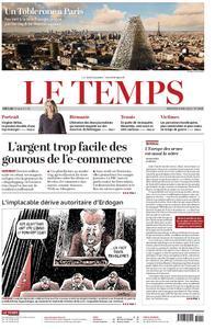 Le Temps - 08 mai 2019