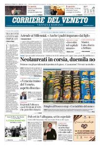 Corriere del Veneto Vicenza e Bassano – 16 ottobre 2019