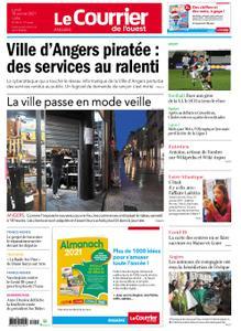Le Courrier de l'Ouest Angers – 18 janvier 2021