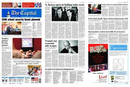 The Capital – March 07, 2018