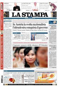 La Stampa Imperia e Sanremo - 17 Dicembre 2017