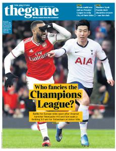 The Times - The Game - 17 February 2020