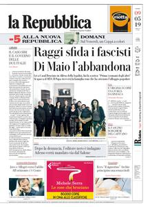 la Repubblica – 09 maggio 2019