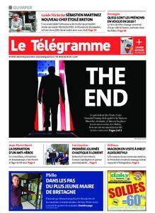 Le Télégramme Quimper – 19 janvier 2021