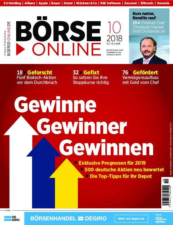 Börse Online - 08. März 2018