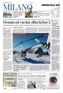 Corriere della Sera Milano – 21 gennaio 2021