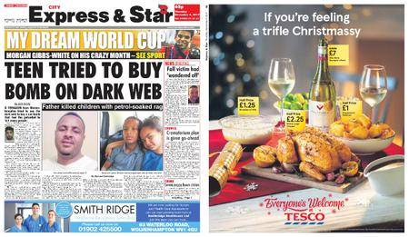 Express and Star City Edition – November 09, 2017