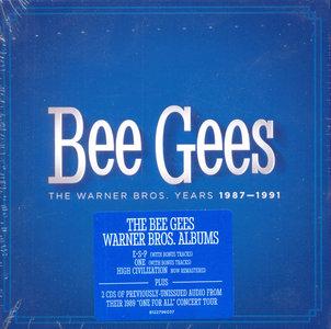 Bee Gees - The Warner Bros. Years 1987-1991 (2014) [5CD Box-Set]