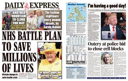 Daily Express – April 19, 2019