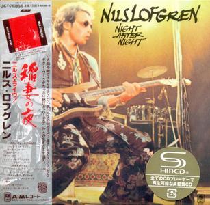 Nils Lofgren - Night After Night (1977) [2014, Japanese SHM-CD]