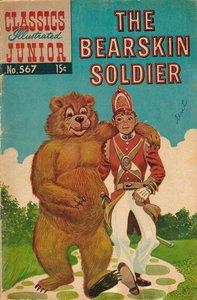 The Bearskin Soldier - Classics Illustrated Junior - 567