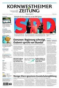 Kornwestheimer Zeitung - 23. April 2018