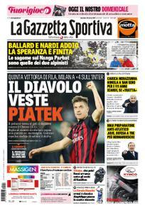 La Gazzetta dello Sport Roma – 10 marzo 2019