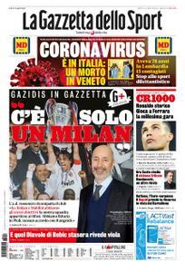 La Gazzetta dello Sport Roma – 22 febbraio 2020