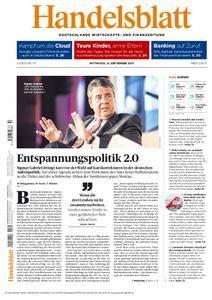 Handelsblatt - 13. September 2017