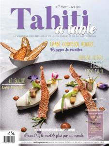 Tahiti à table - Février-Avril 2020
