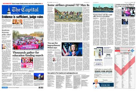 The Capital – March 12, 2019