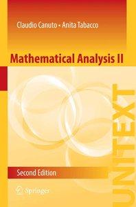 Mathematical Analysis II, 2 edition