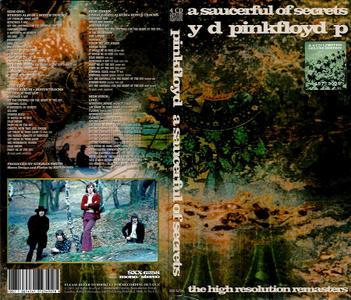Pink Floyd - A Saucerful Of Secrets: The High Resolution Remasters (1968) {2019, 4CD Limited Deluxe Edition, Numbered}