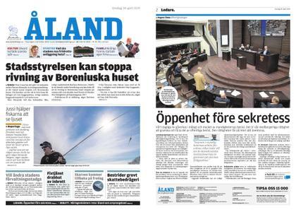 Ålandstidningen – 24 april 2019