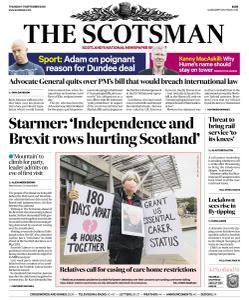 The Scotsman - 17 September 2020
