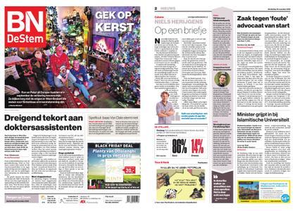 BN DeStem - Bergen op Zoom – 22 november 2018