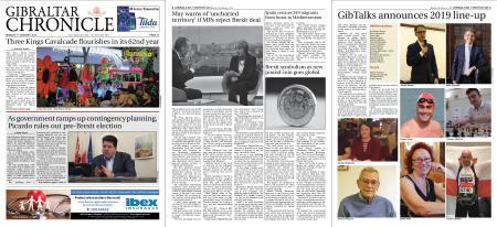 Gibraltar Chronicle – 07 January 2019