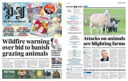 The Press and Journal Moray – December 21, 2019