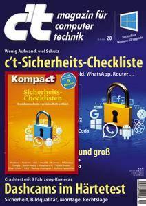 c't Magazin Nr.20 - 15 September 2018