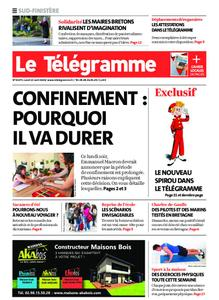 Le Télégramme Concarneau – 13 avril 2020