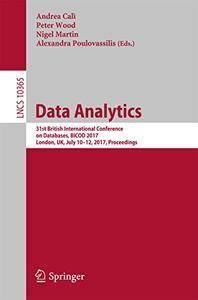 Data Analytics: 31st British International Conference on Databases[Repost]