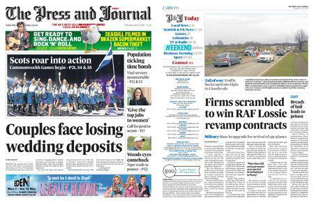 The Press and Journal Moray – April 05, 2018