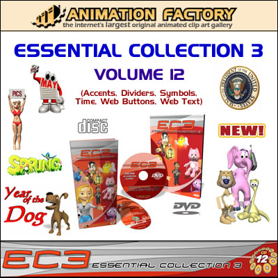 Animation Factory Essential Collection 3 (Vol 12)